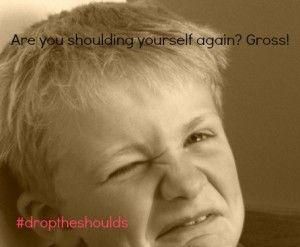 #droptheshoulds