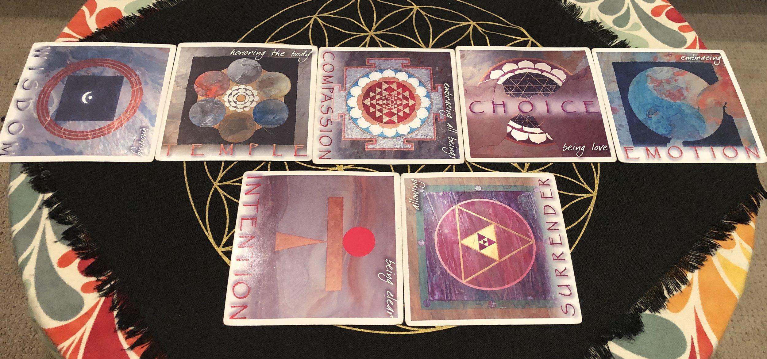 Yantra Oracle Card Deck