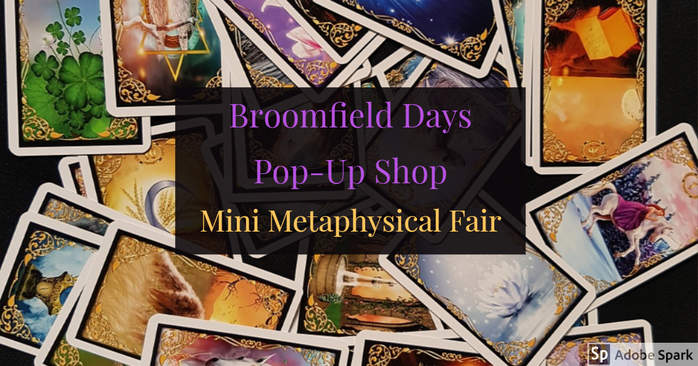 Mini Metaphysical Fair at The Healing Studio, Broomfield Days