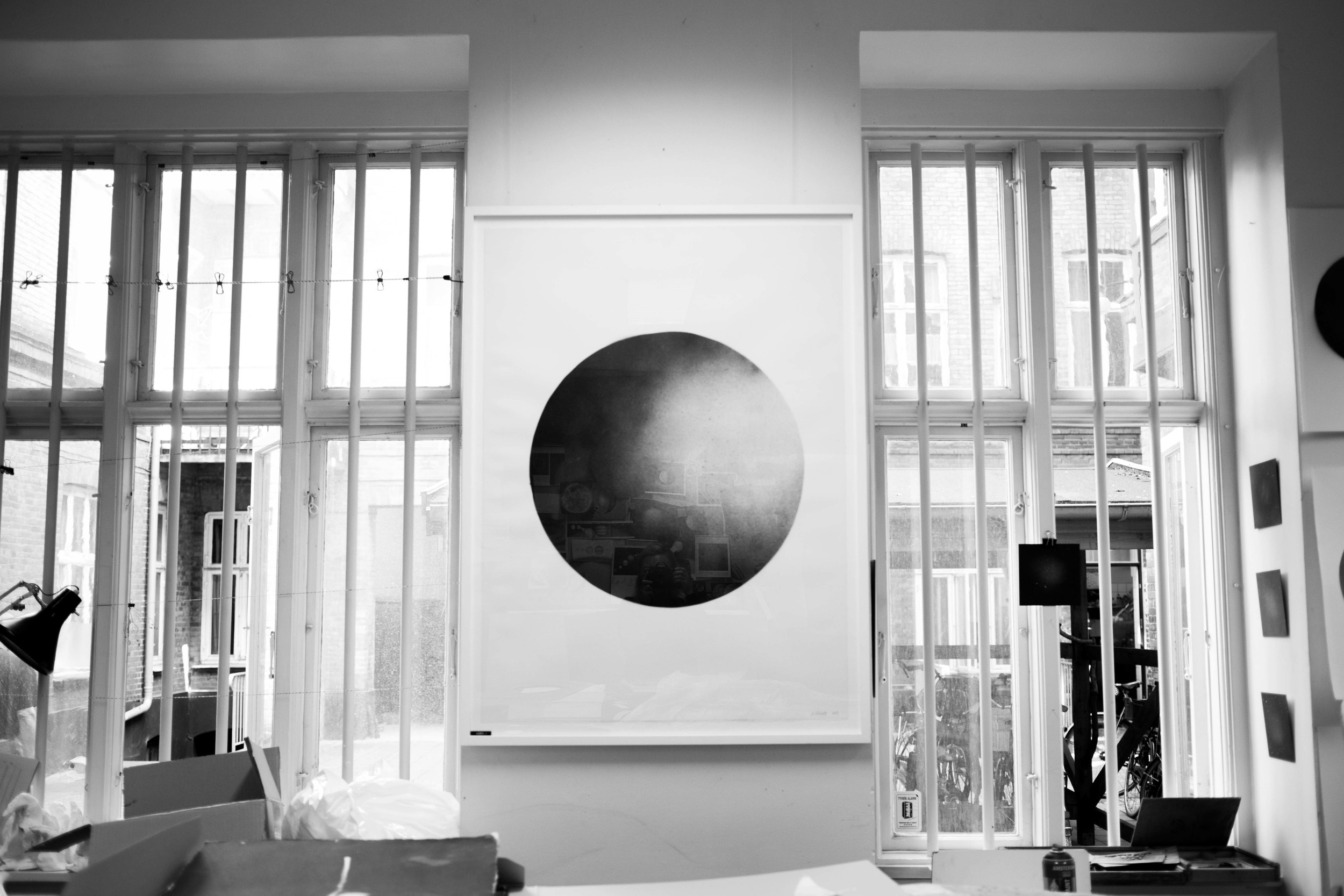 This is a White Moon print from Danish artist, Anne Nowak, and you can purchase it  here .