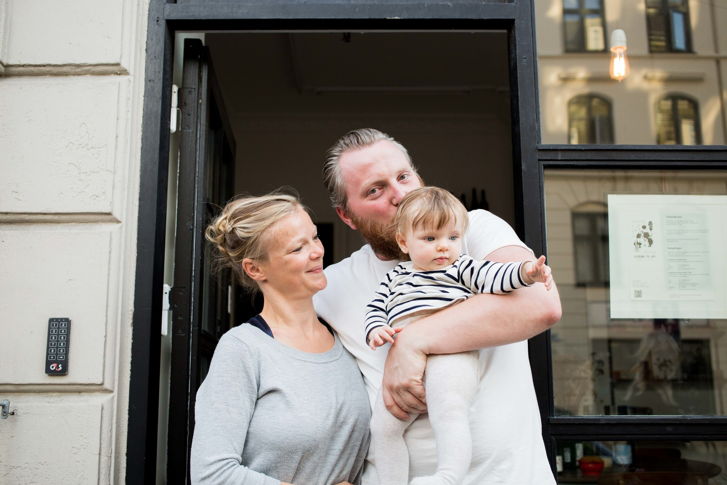 Solfinn and his beautiful family. They had just spend 3 weeks in Paris for their holiday and were back in Denmark to cook up a storm.