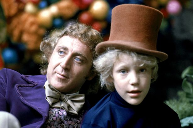 Peter Ostrum with Gene Wilder in 1971 film,  Willy Wonka and the Chocolate Factory . Photo Credit:  Mirror.co.uk