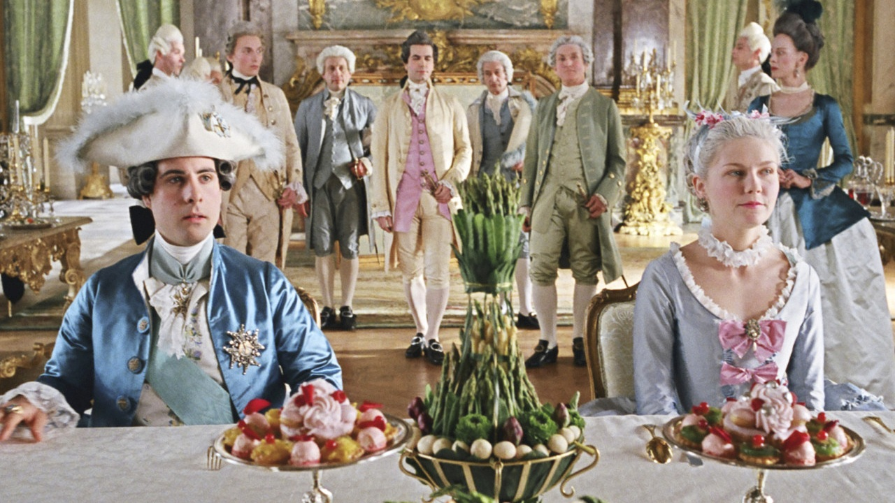 Image is from the movie,    Marie Antoinette   .