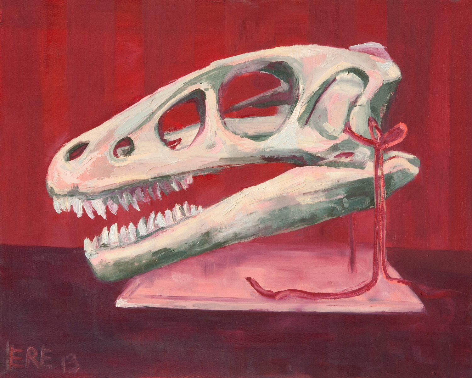 vintage and cute: marasuchus skull