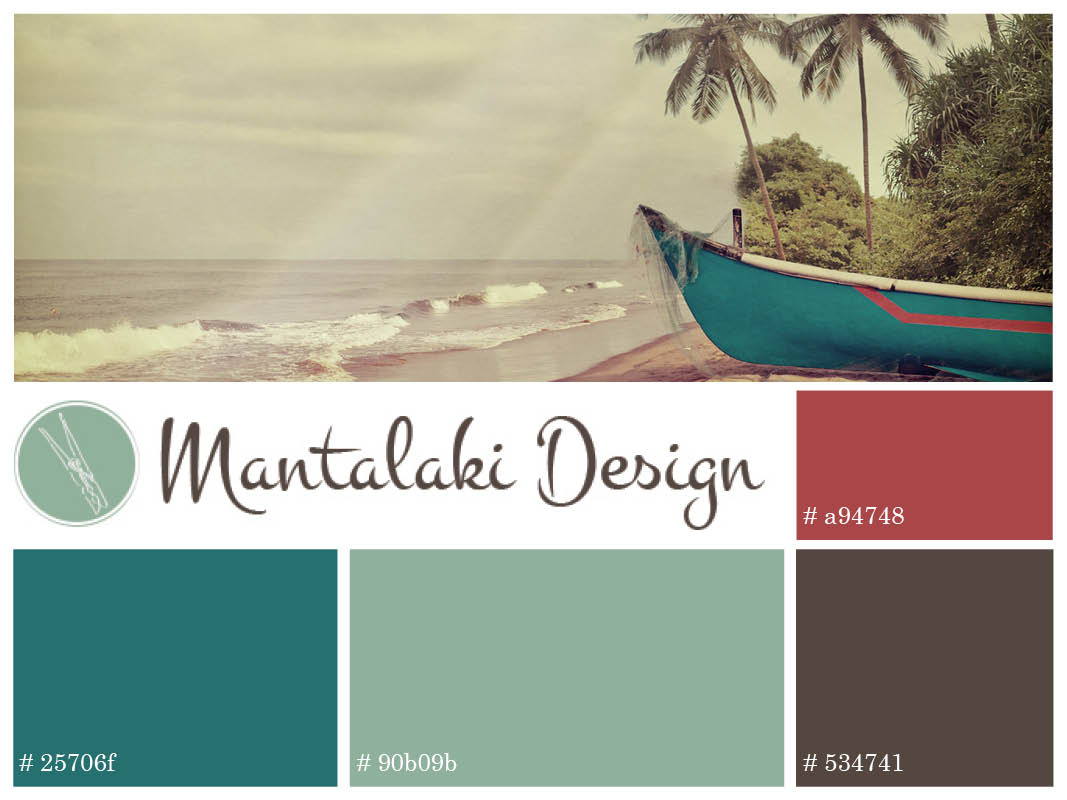 MantalakiDesign.com inspiration board