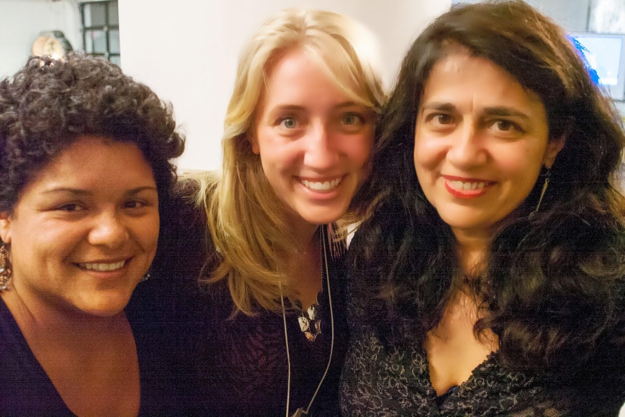 Copy of Cookie Martinez, Melina Giannelia, Aruna Antonella Handa