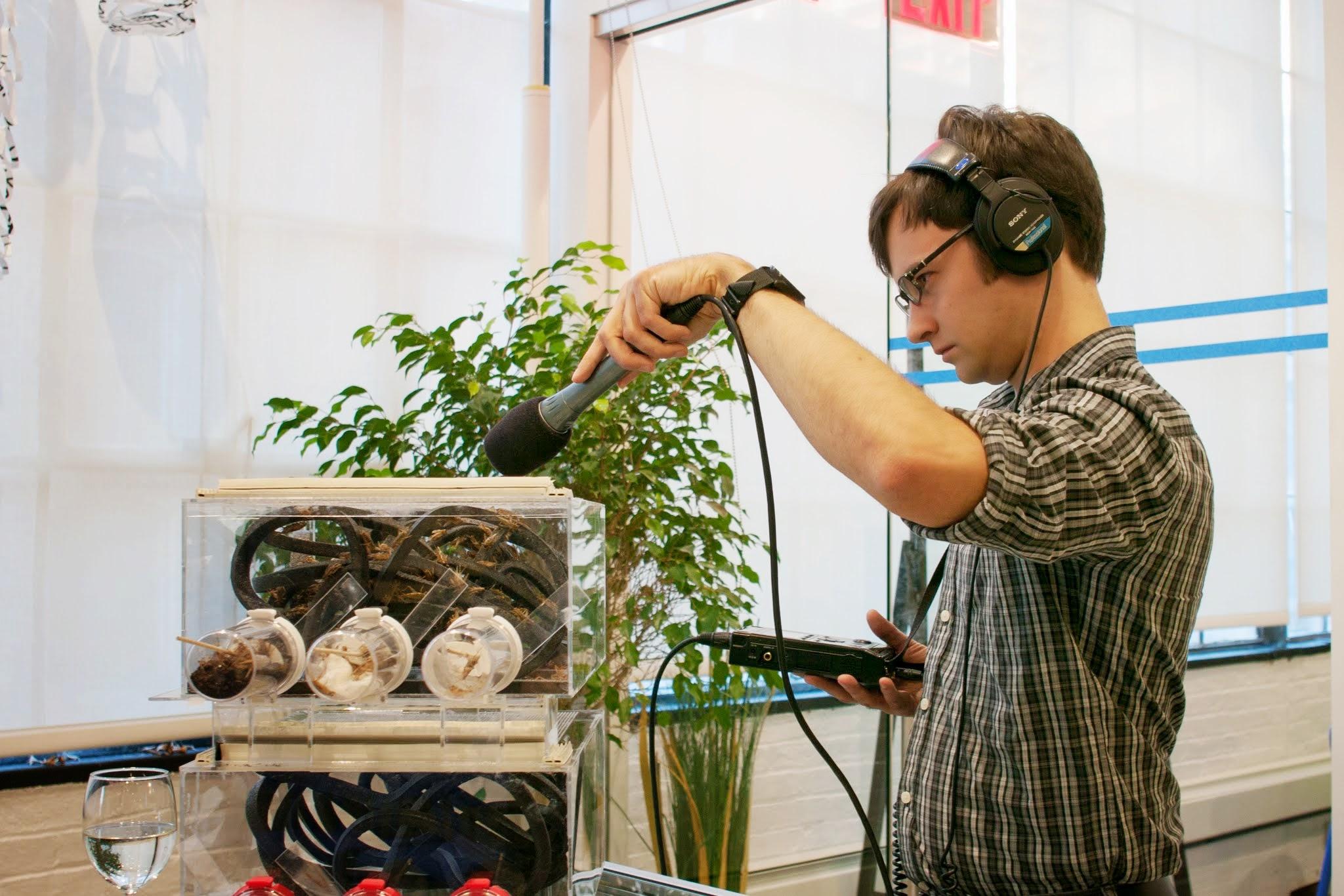 Copy of Recording Crickets, Future Food Salon