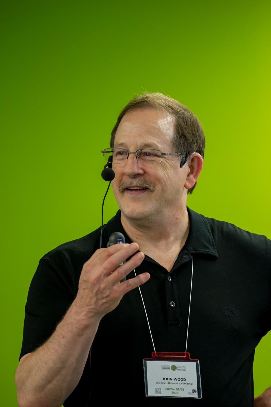John Wood, Panel Eating Innovation 2014