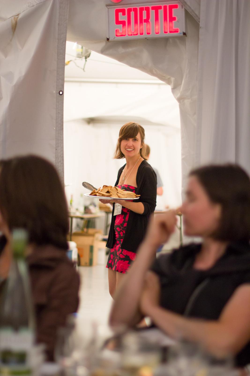 Kelsey Speakman at Big Bang Bug Banquet