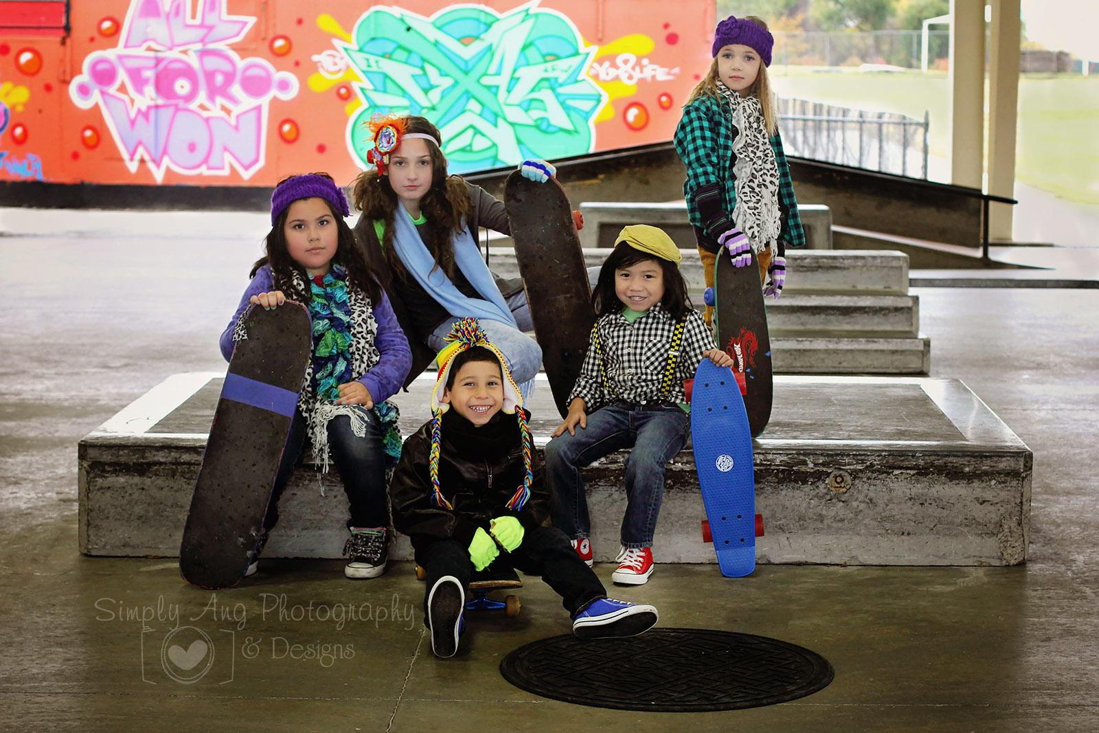 Model Life Skater Shoot!