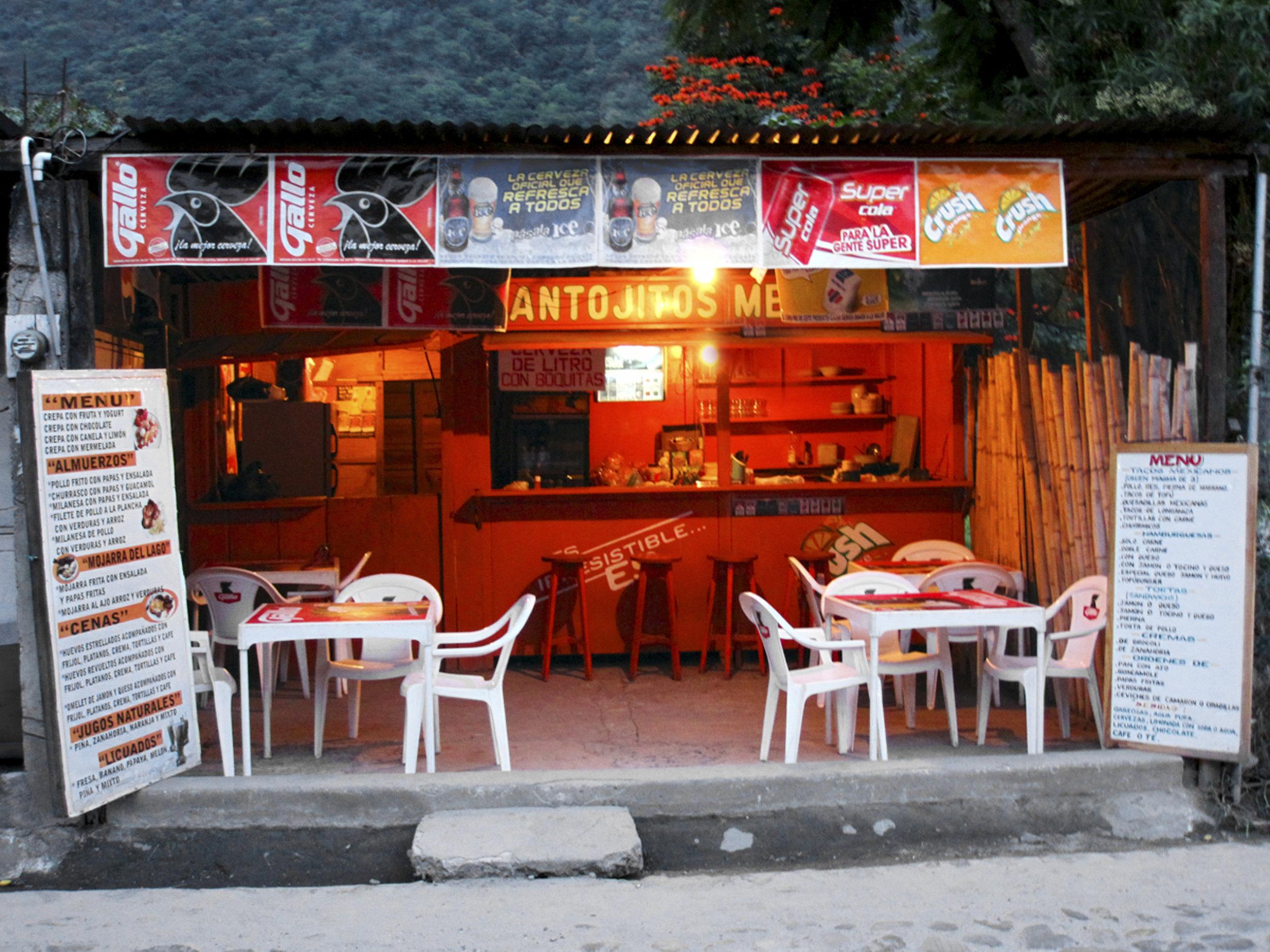 """Panahachel Restaurant"" - Guatemala"
