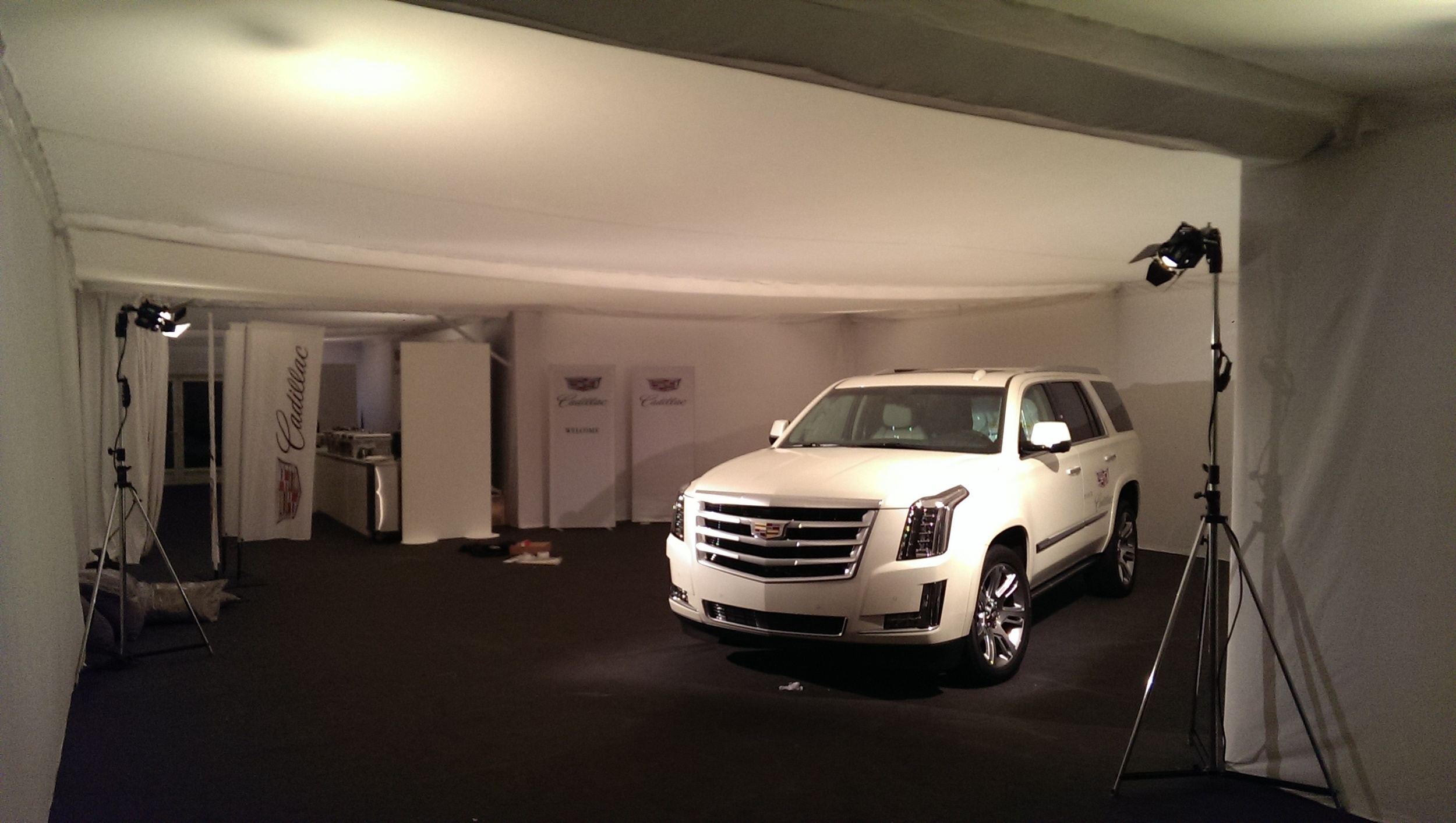 Cadillac Branding - Gstaad