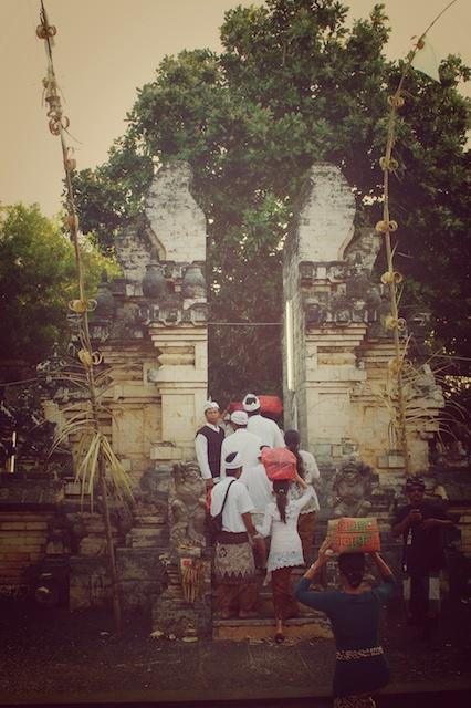 Ceremony. Bali, Indonesia.
