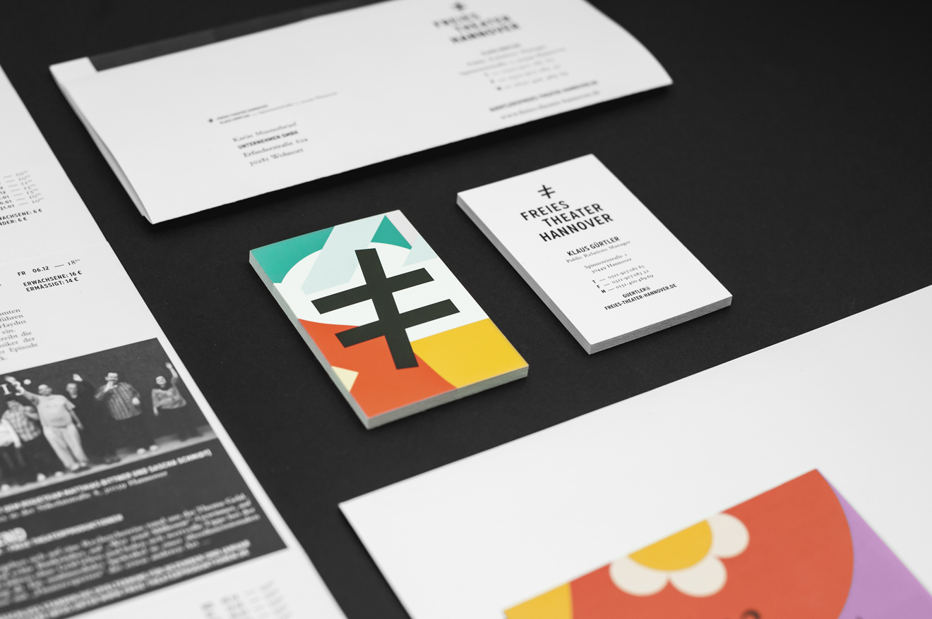 Freies Theater Hannover Corporate Design