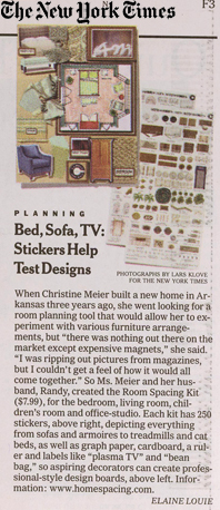 Getting coverage in The New York Times is often a top priority for our clients and we strive to meet that objective.