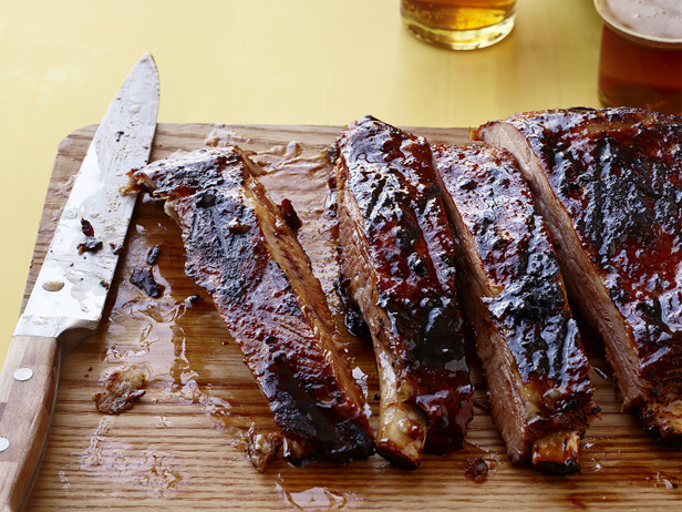 Beautiful cut ribs! You can do the Homer Simpson drool looking at these.