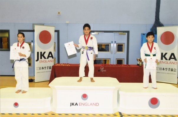 Gabriel as a Double Gold Medallist (National English Champion)