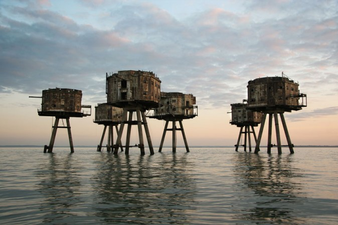 … the Maunsell Sea Forts