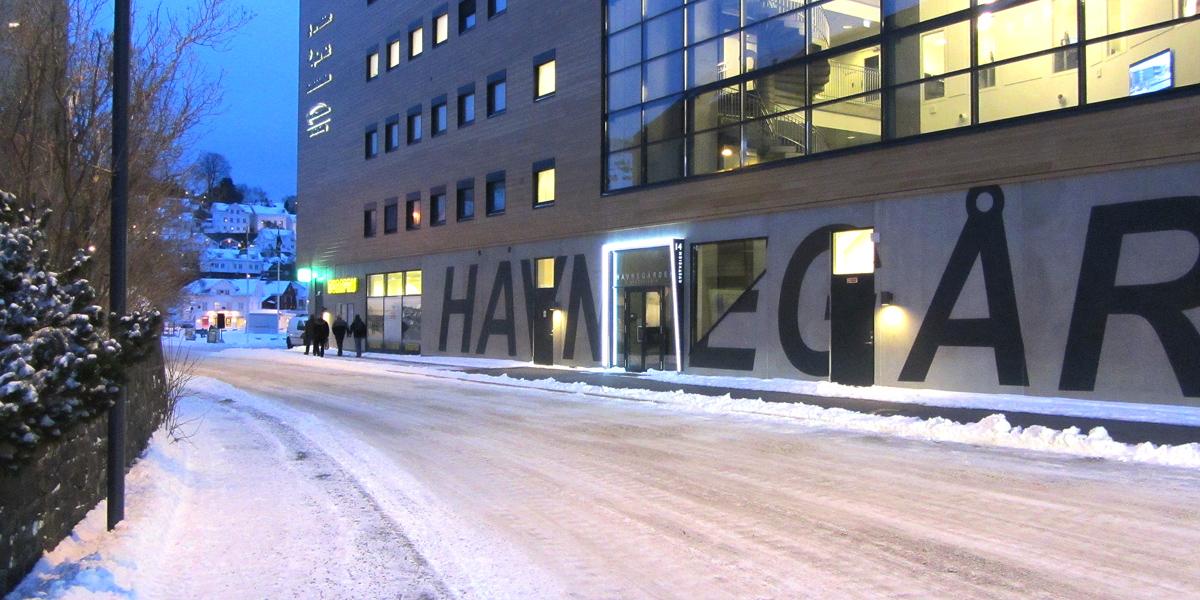 Havnegården Entrance