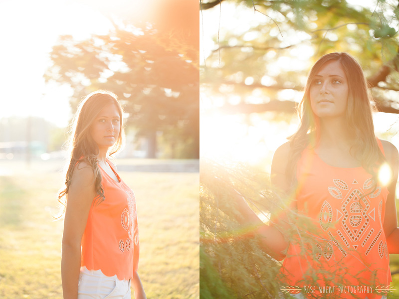 We ended our session by climbing into trees and getting drenched in sunlight. It was so dreamy!