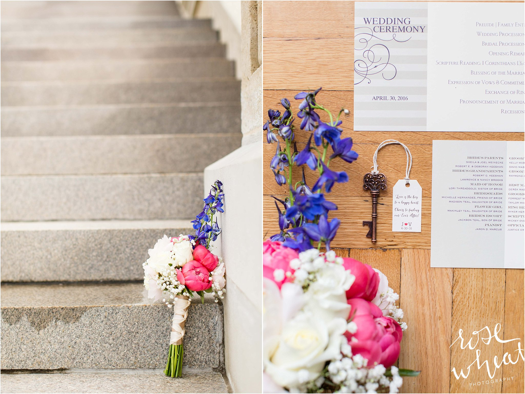 peony bouquet key bottle opener weddingf favor.JPG