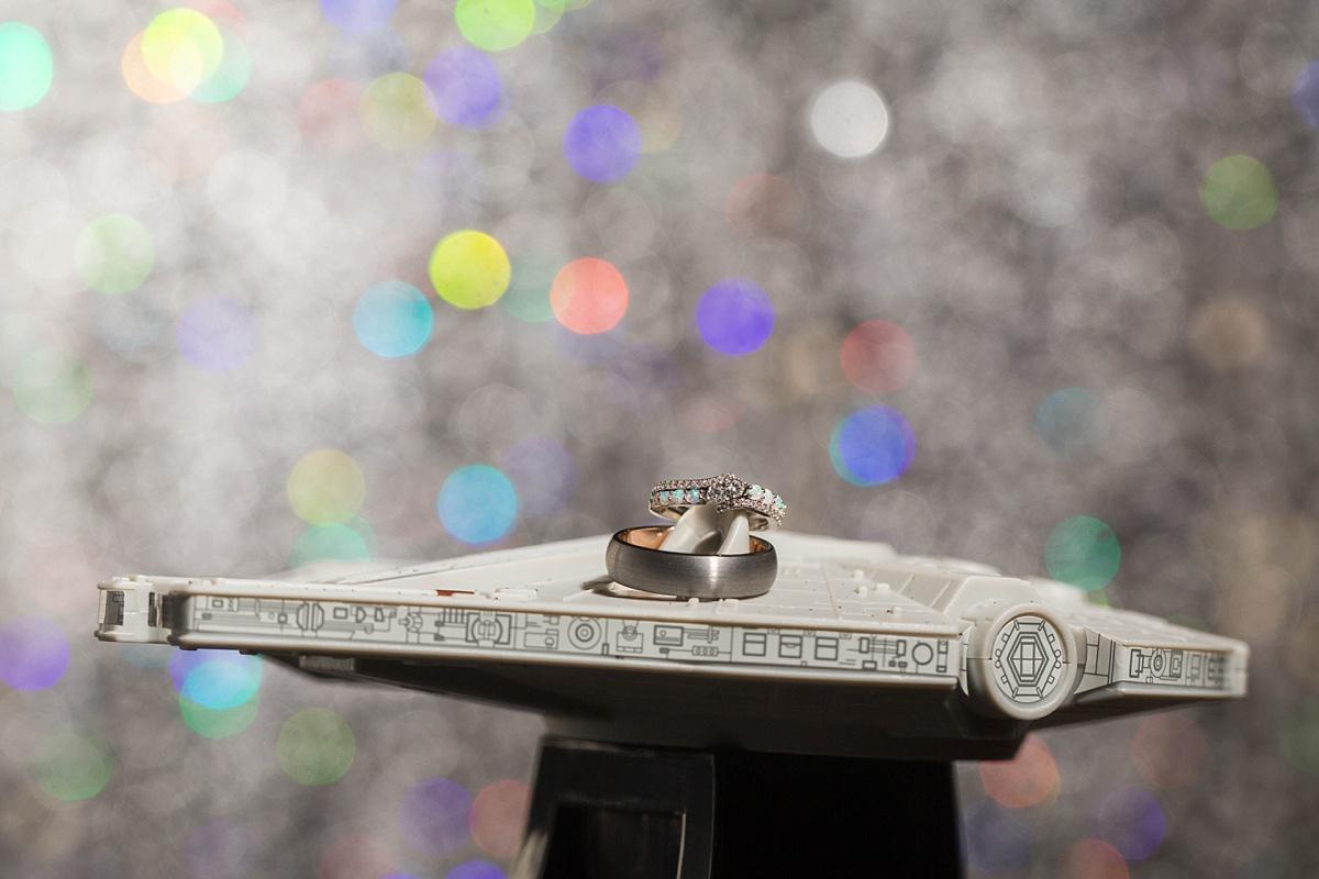 Star Wars Millennium Falcon Wedding
