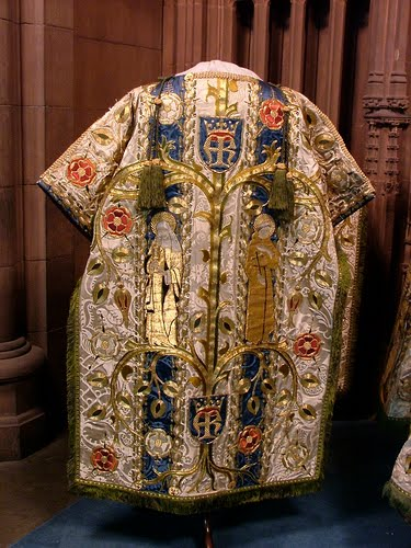 Vestment from the Vatican