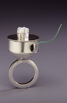 Dental Floss Dispenser RIng