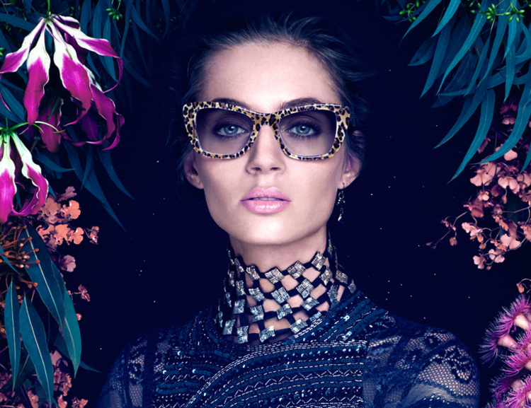 Be summer ready with this wildly stylish sunglass from the fabulous Jono Hennessy!