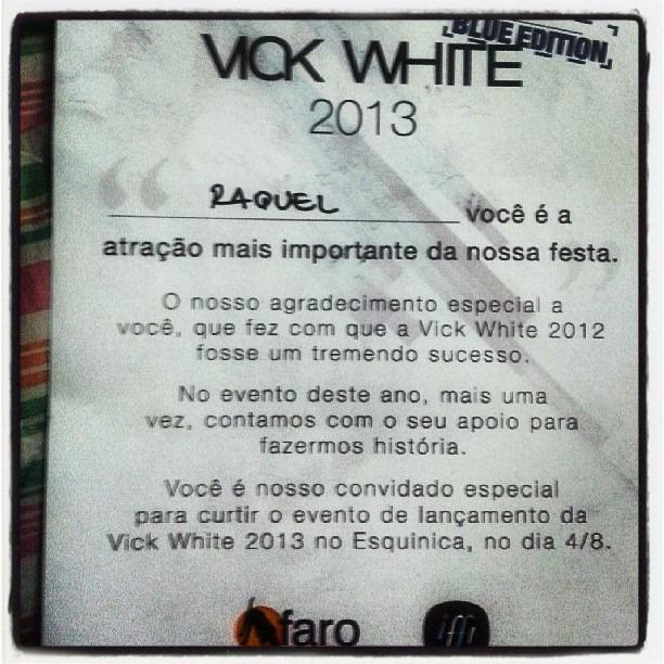 Vick White Blue Edition