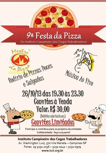 pizza do cegos