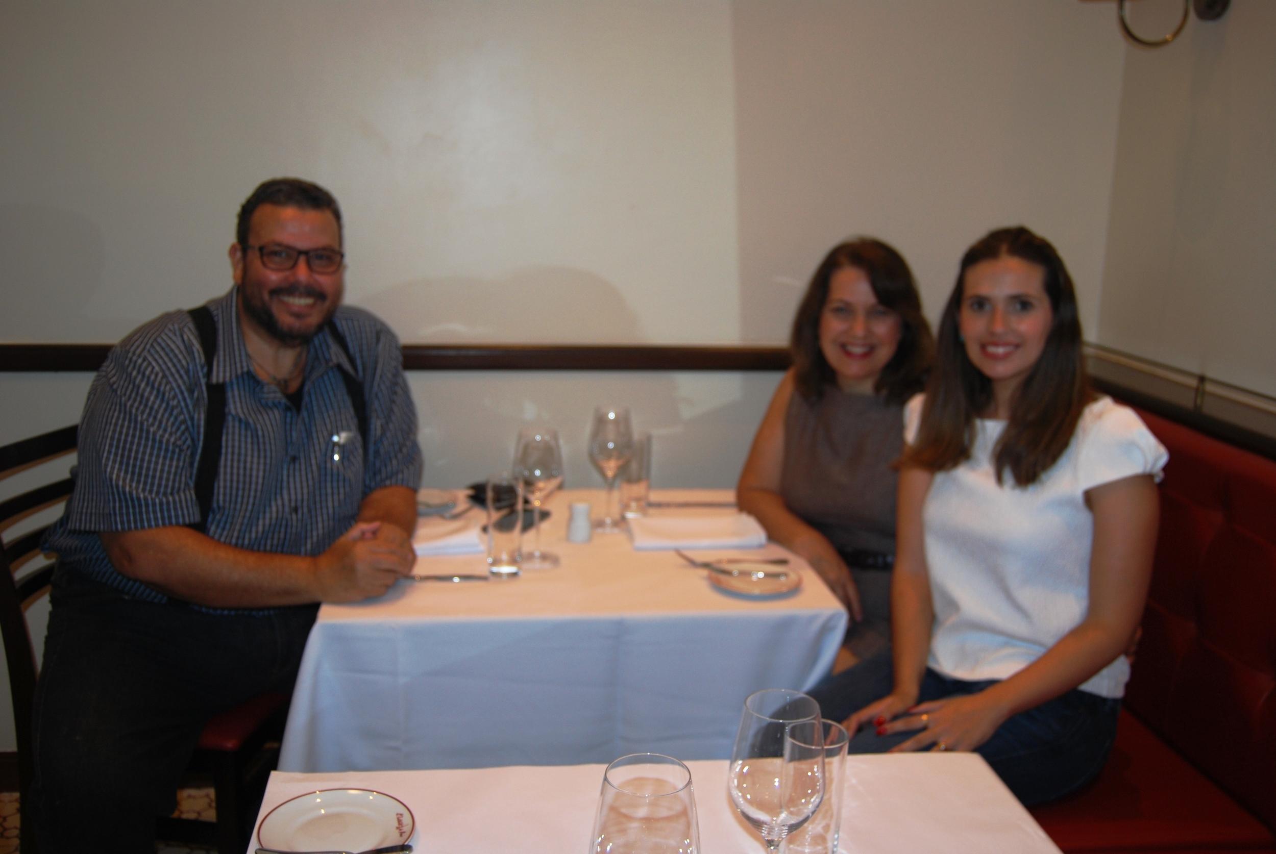Marcelo e Angélica Serra e Luciana Rossi Marcolino.JPG