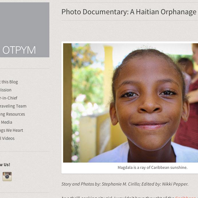 Photo Documentary: A Haitian Orphanage  Story & photos by Stephanie M. Cirillo