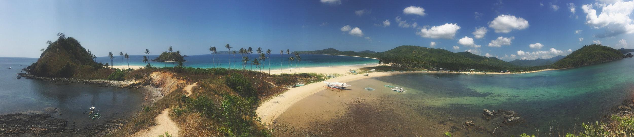 Nacpan Beach pano