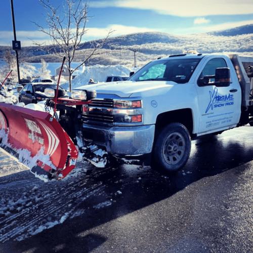 Xtreme Snow Pros Pług Truck Odśnieżanie po burzy