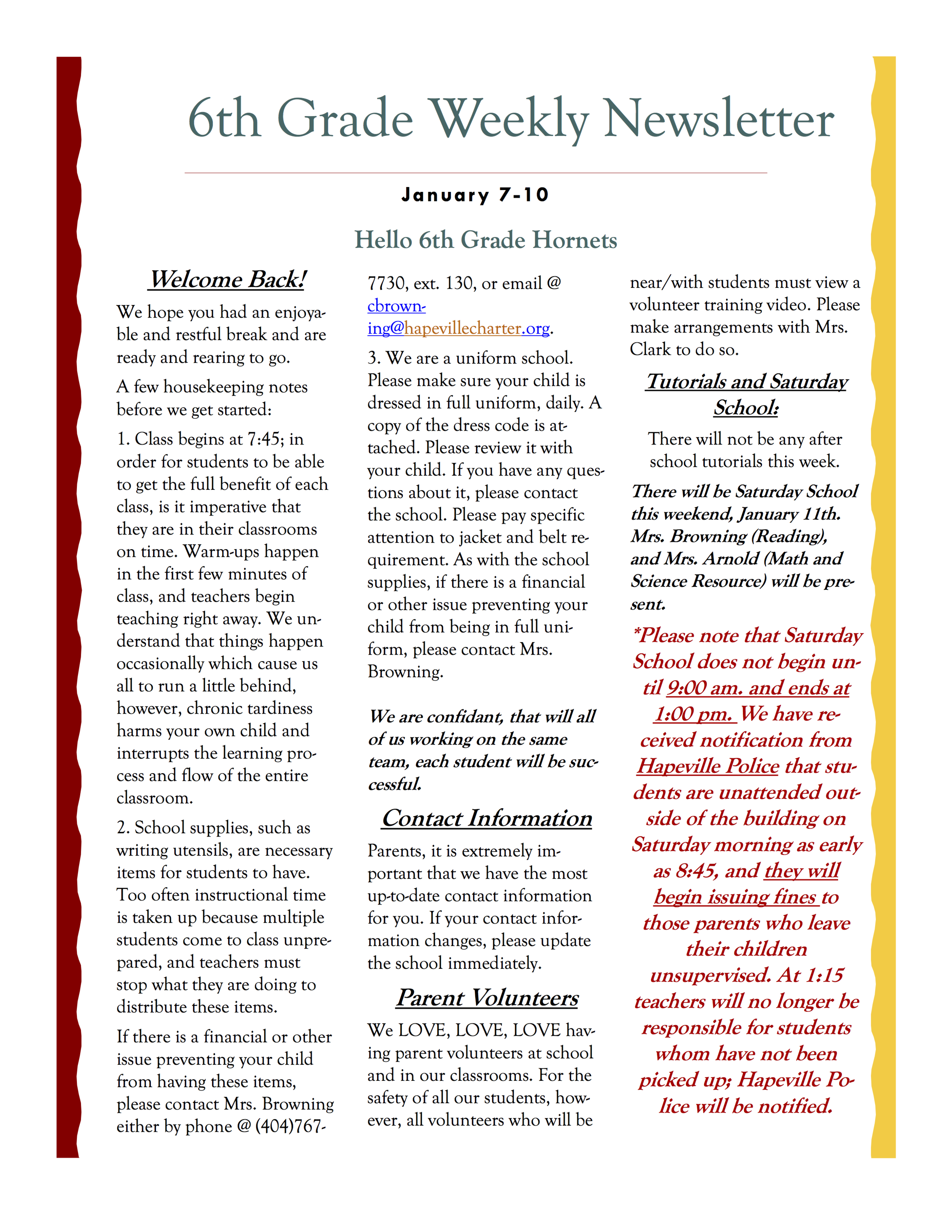 6th Grade Newsletter 1-7A.png