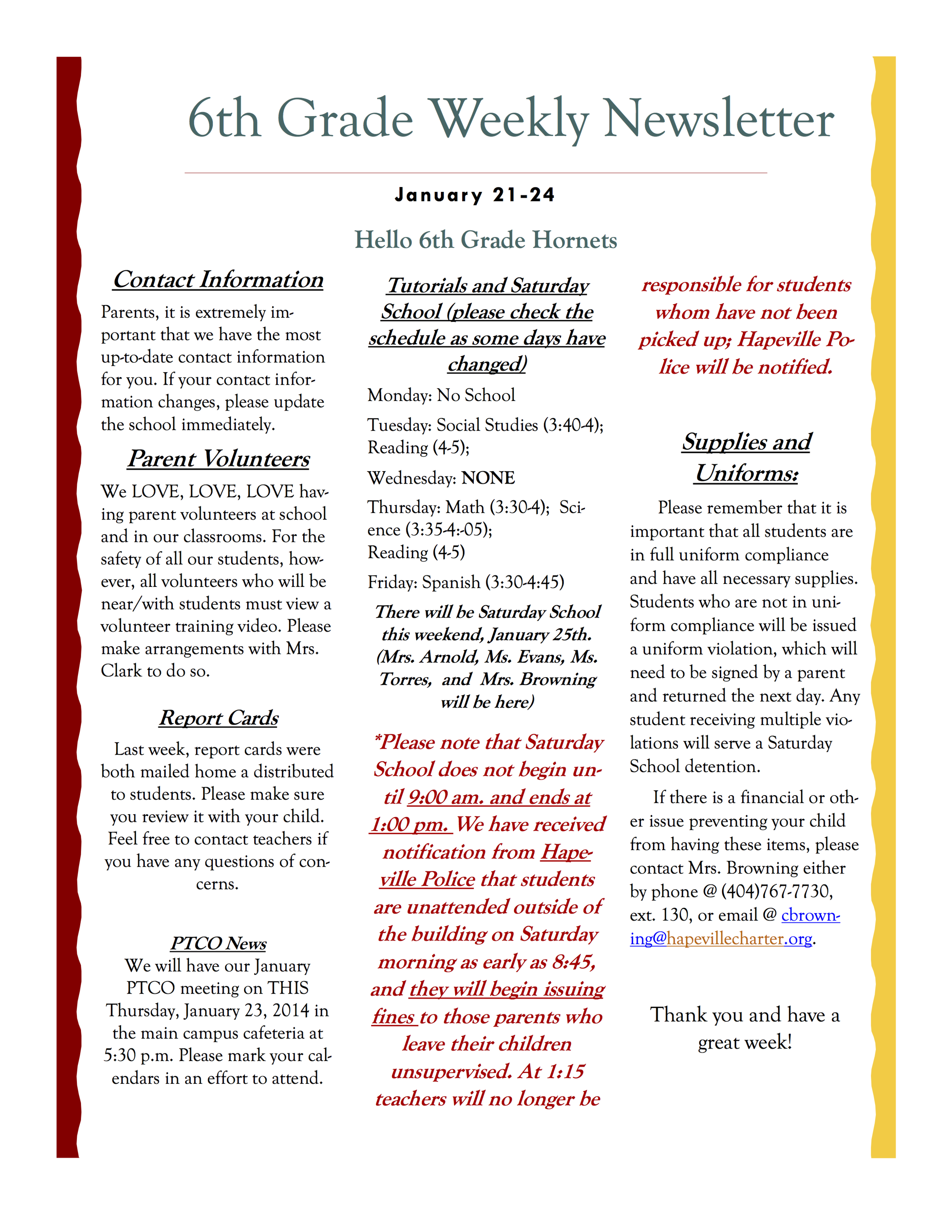 6th grade newsletter January 21A.png