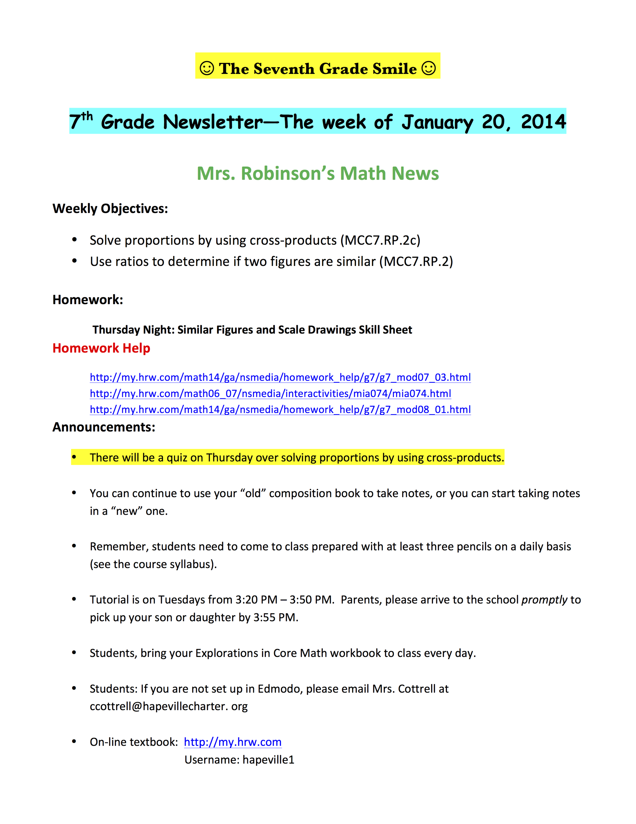 7th grade newsletter 1-21A.png