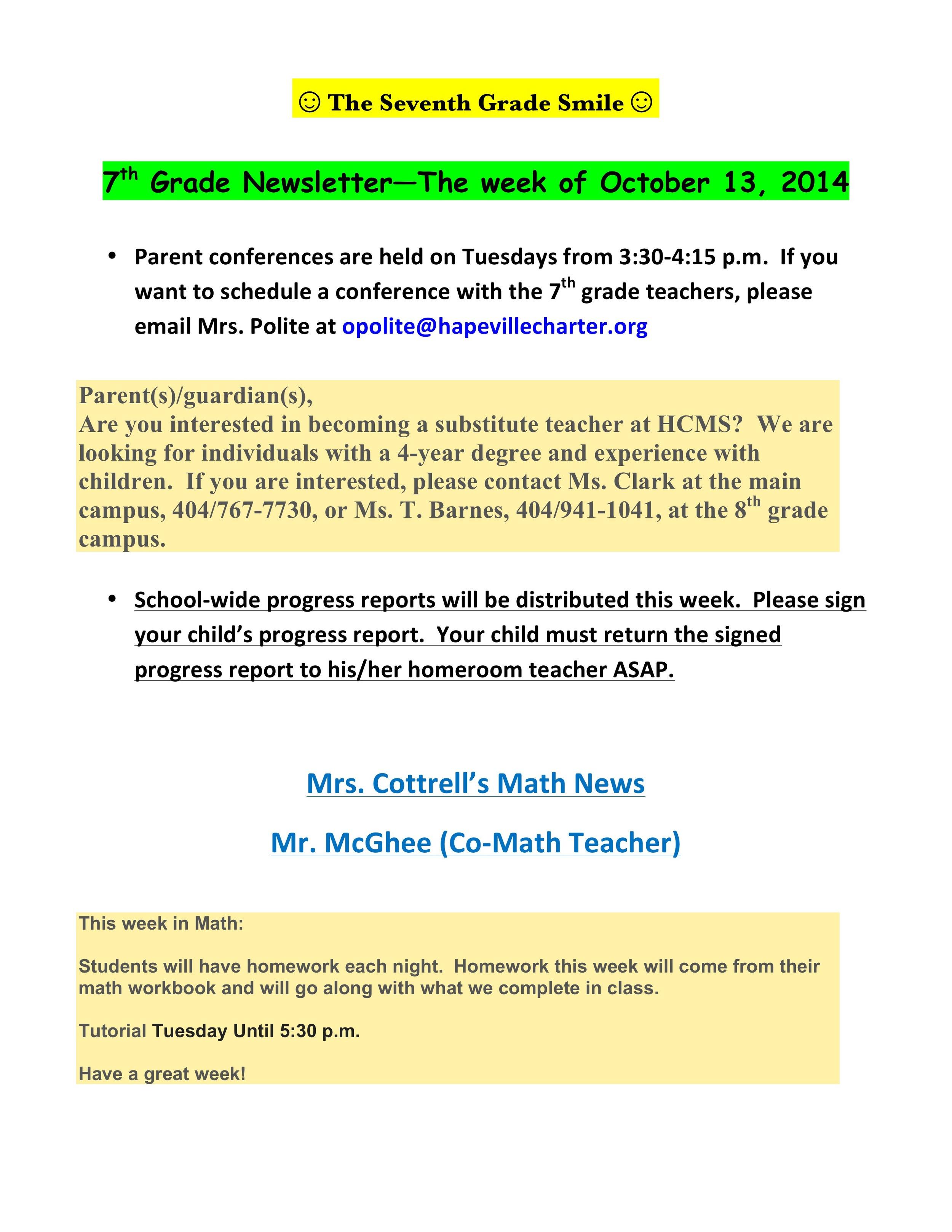Newsletter Image7th grade October 13th 2014.jpeg