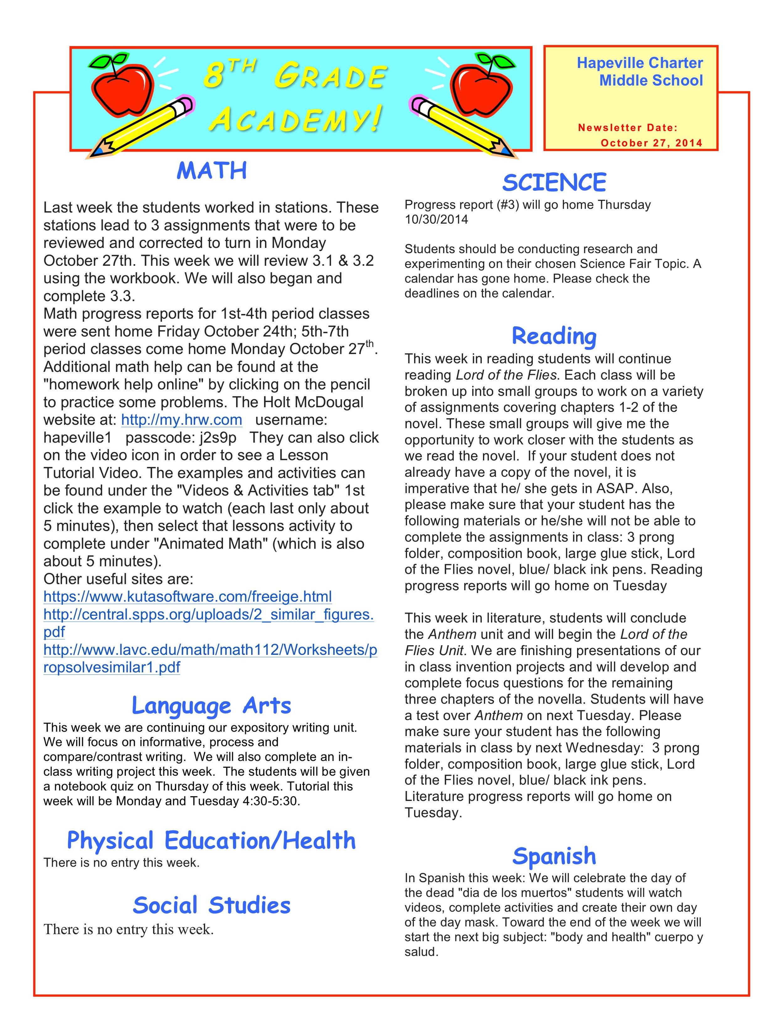 Newsletter Image8th grade October 27.jpeg