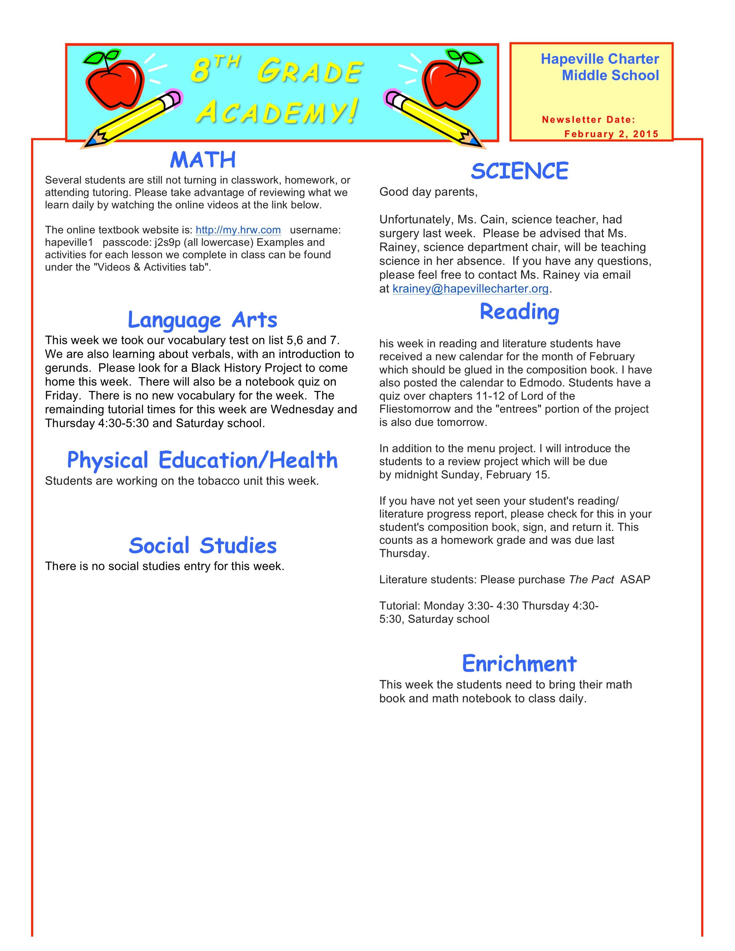 Newsletter Image8th grade February 2 .jpeg