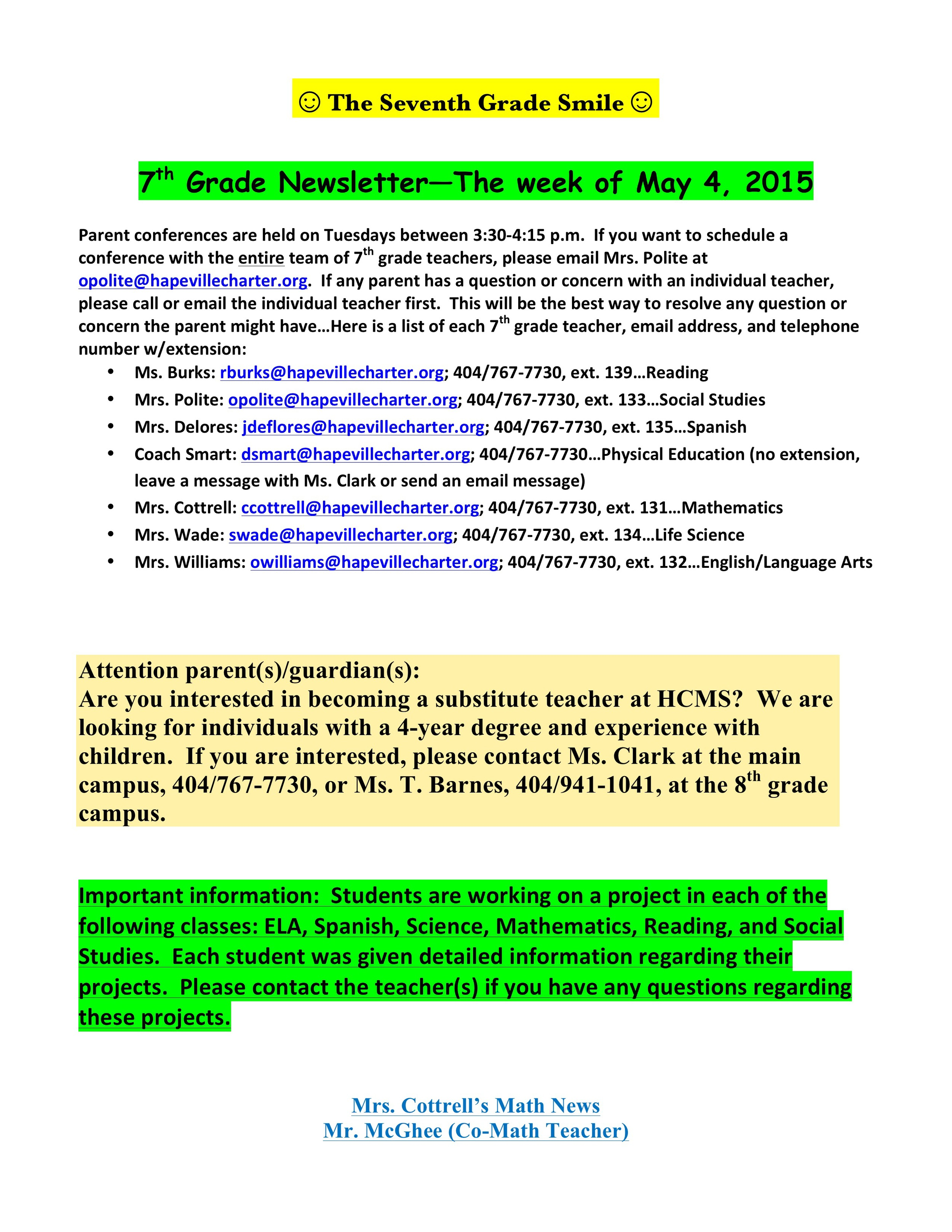 Newsletter Image1...Newsletter for the week of May 4-8, 2015.jpeg
