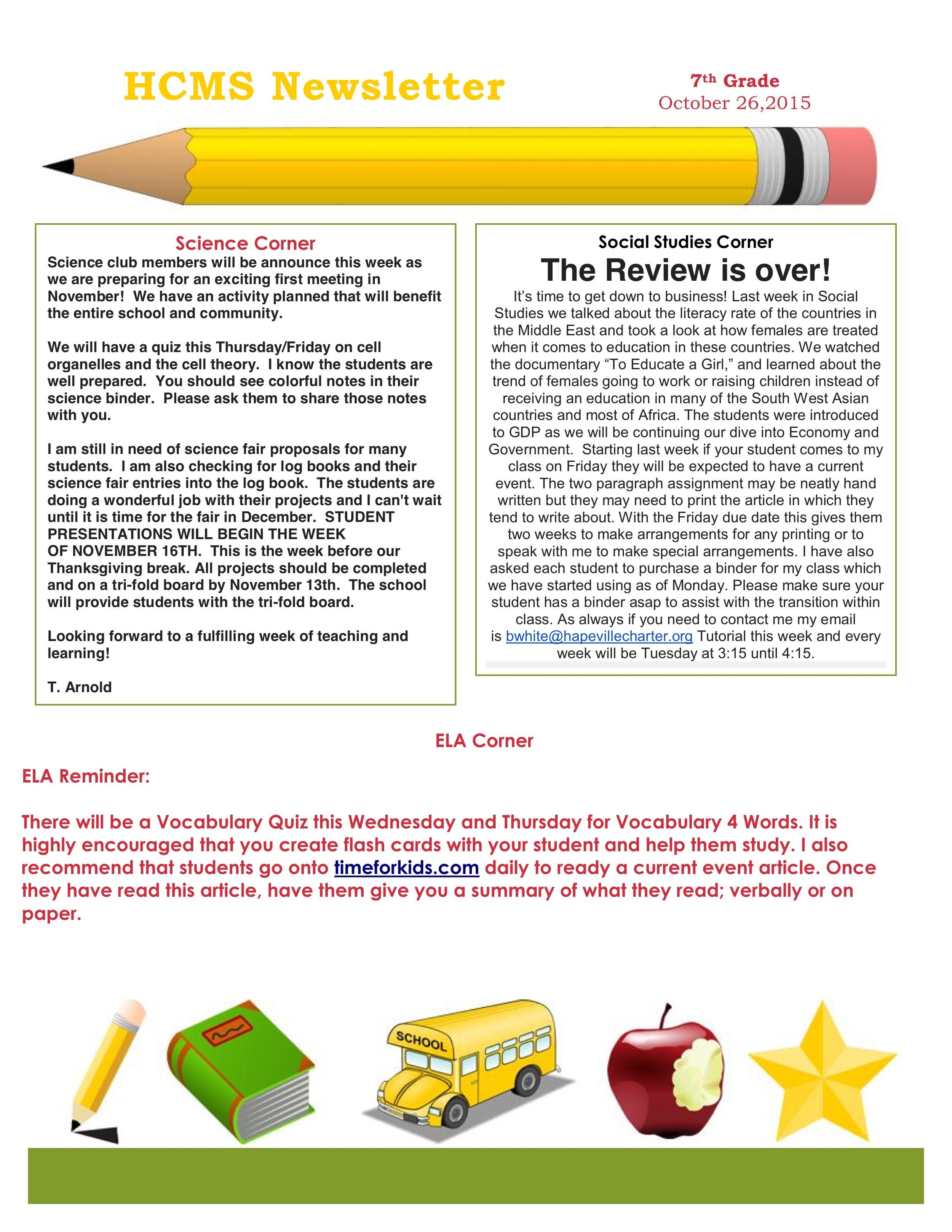 Newsletter Imagenewsletter for the week of the 26 of october.jpeg