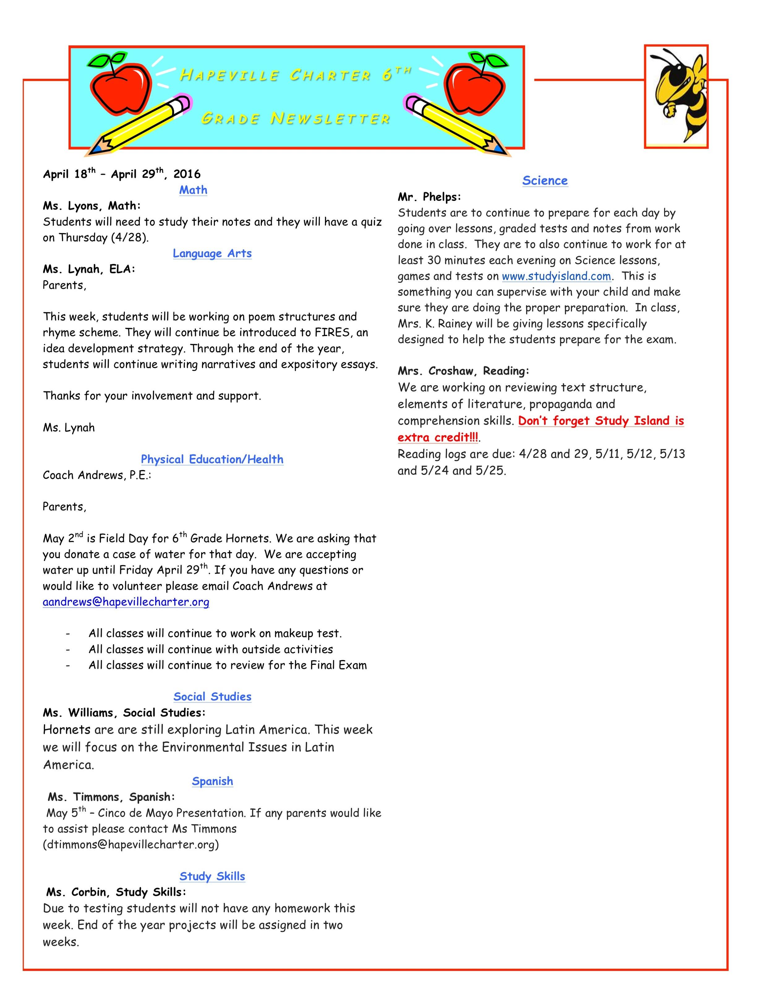 Newsletter Image6th Grade Newsletter 4-25.jpeg