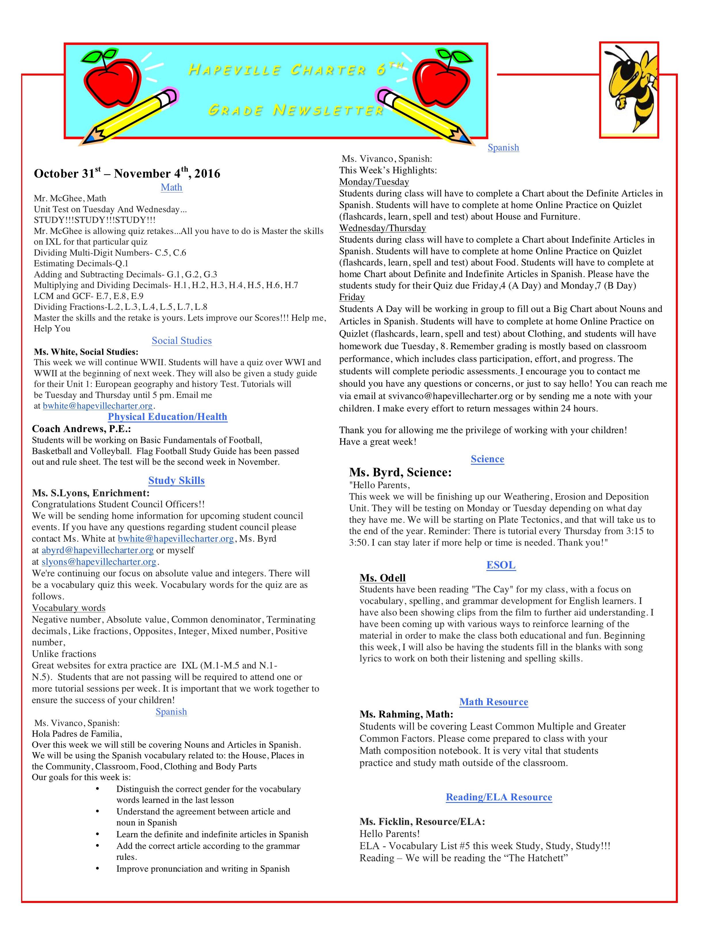 Newsletter Image6th Grade Newsletter 10-31-2016.jpeg