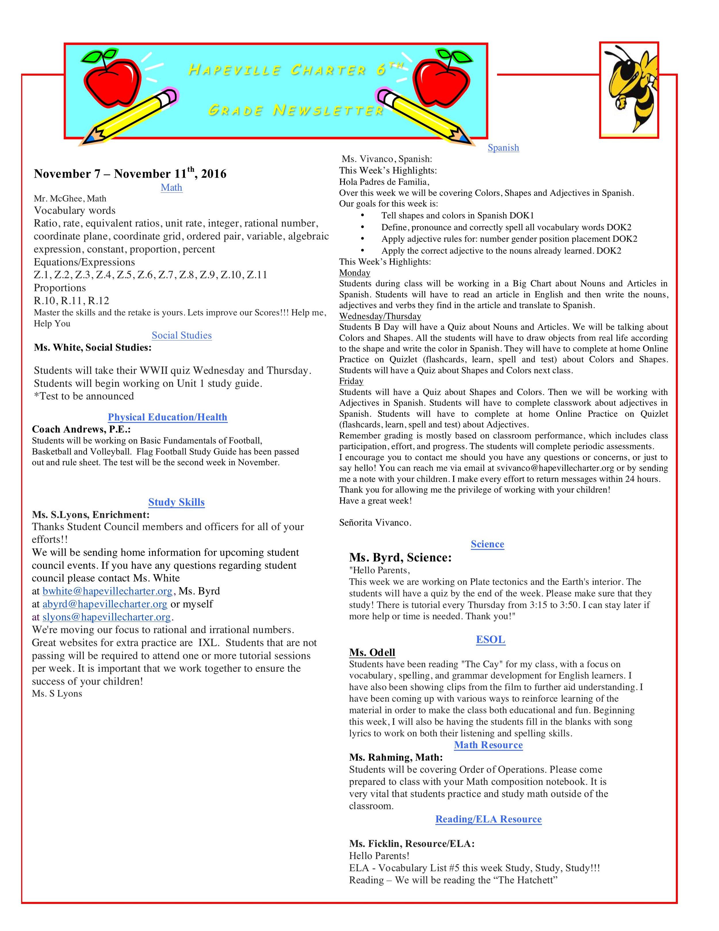 Newsletter Image6th Grade Newsletter 11-7-2016.jpeg