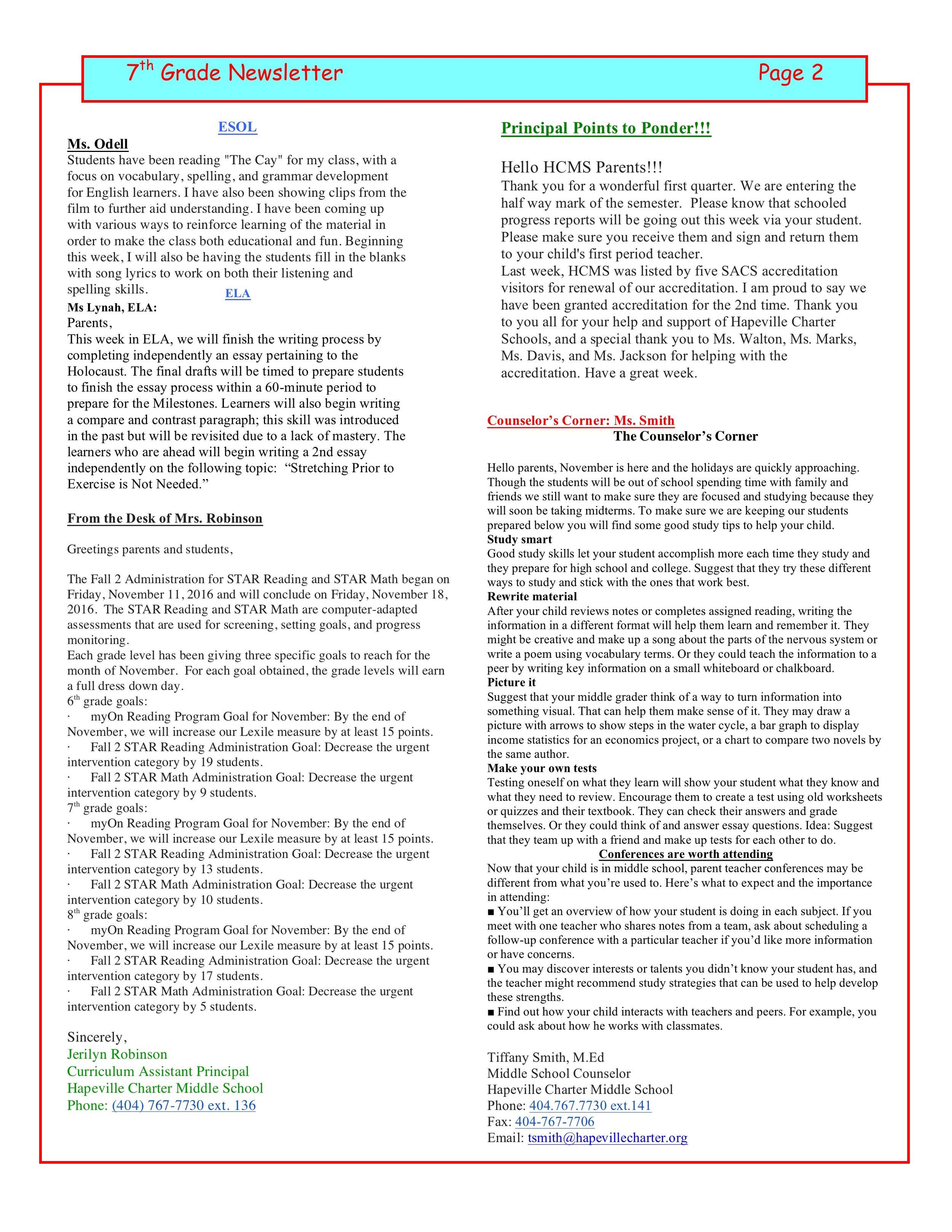 Newsletter Image7th Grade Newsletter 11.14.2016  2.jpeg