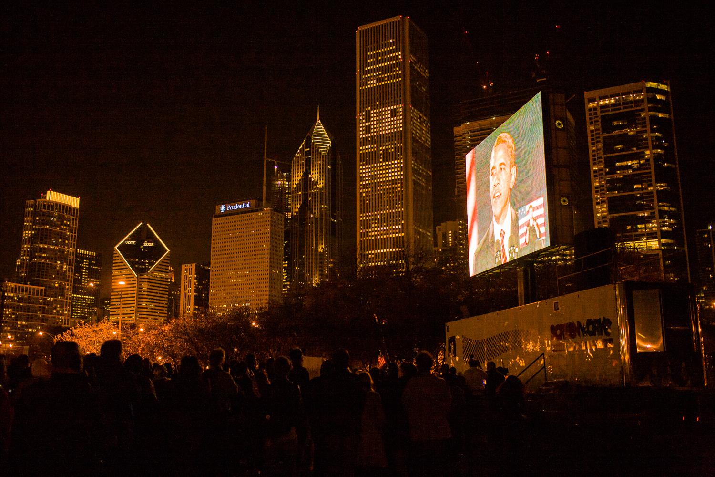 Election Night, Chicago