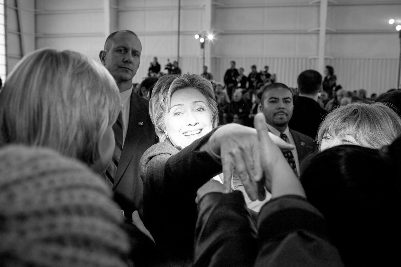 Hillary Clinton at Nashua rally