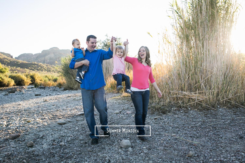 Salt river family photography